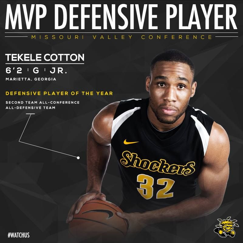 (3-4-14) -- Super proud of Tekele Cotton!!  And I'm so glad we've got him for one more year!!