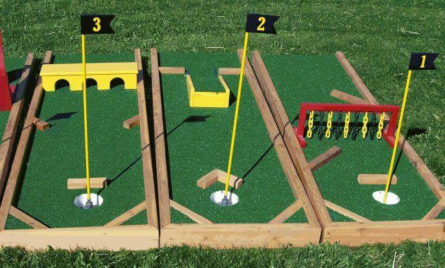 Backyard Mini Golf Www Musicnmotion Info Golf Party Pinterest From