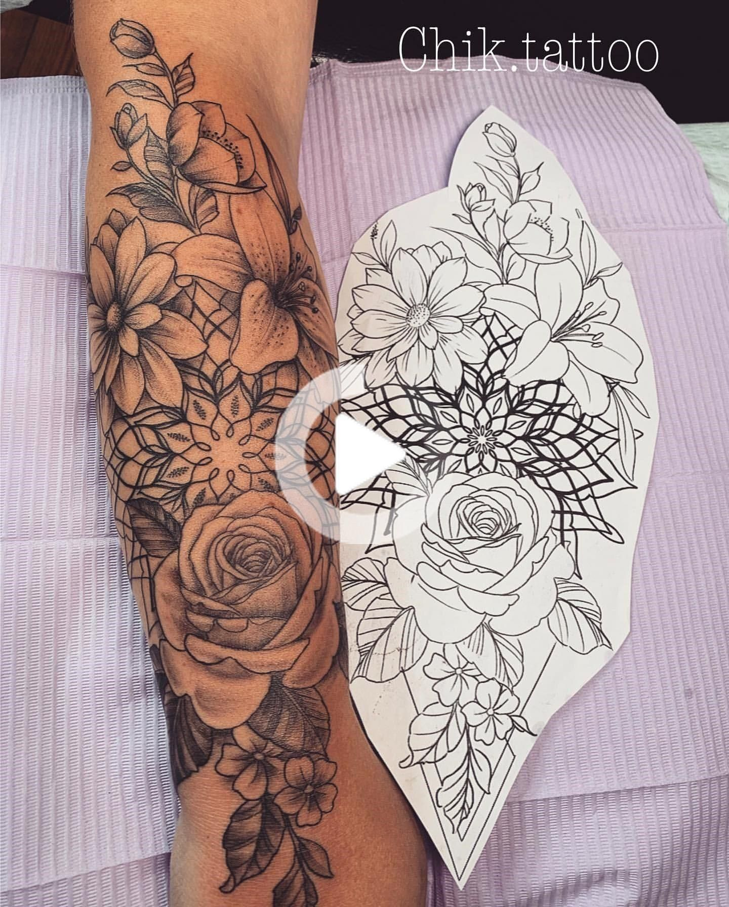100+ Most flower tattoos Would you like a Blumentätowie