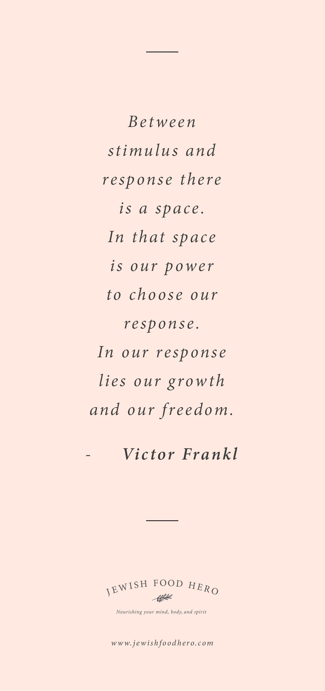 Jewish Quotes On Life Victor Frankl Quotation  From Jewish Food Hero  Pinterest
