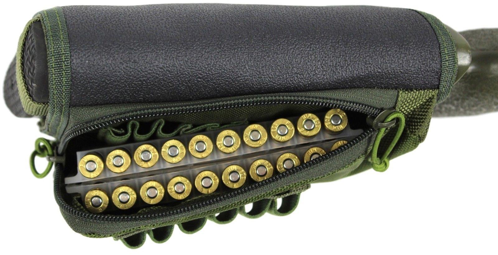 Rifle Stock Pack | Cheek Pad Riser | Buttstock Ammo Holder