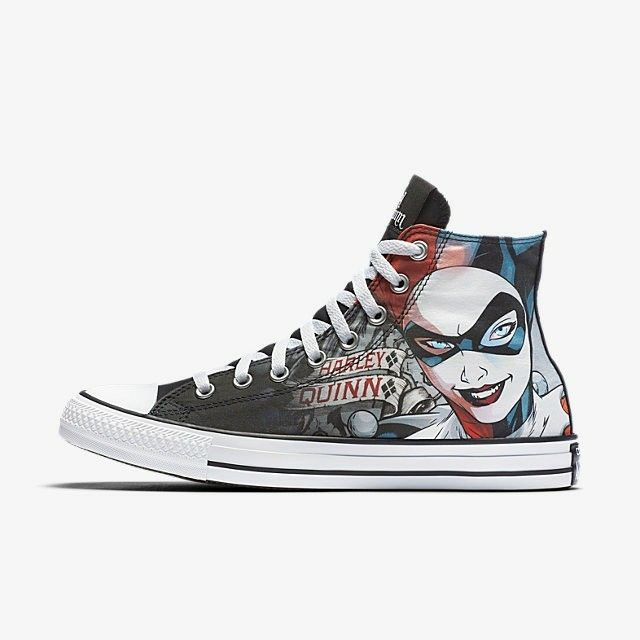 Converse Chuck Taylor All Star DC Comics Harley Quinn High Top Unisex Shoe 6a8d788e4