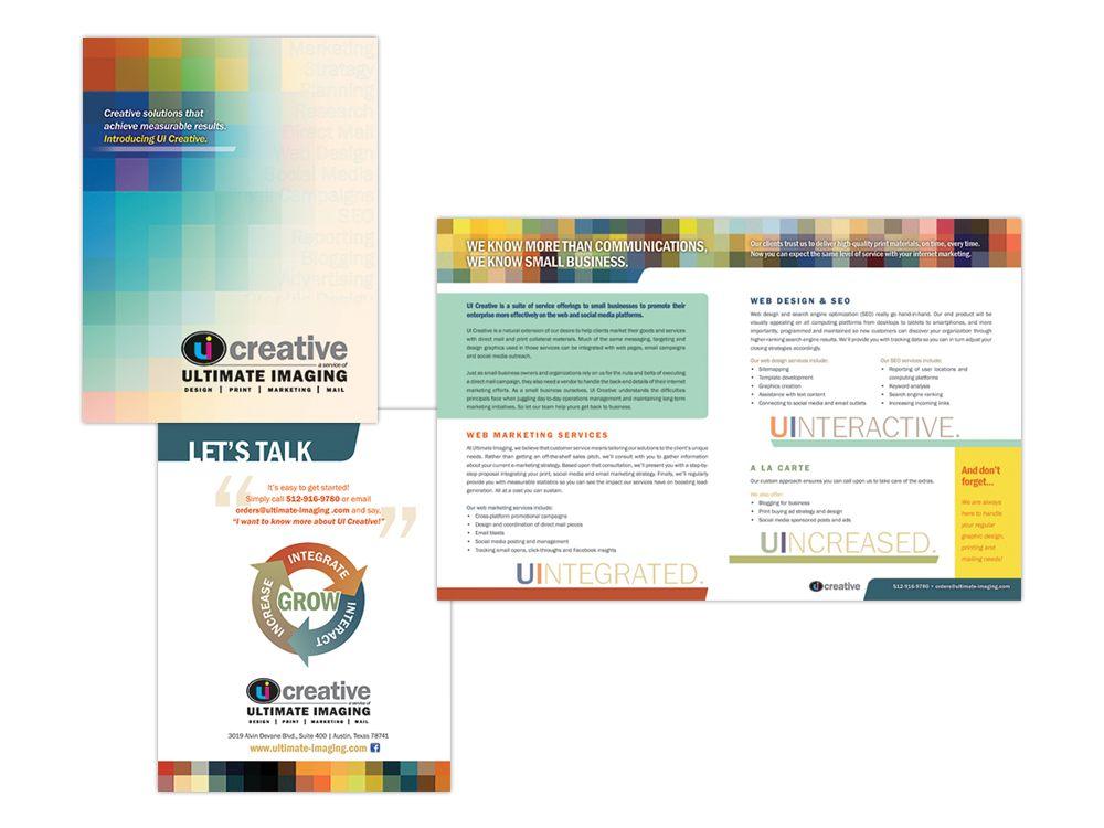 Brochure For Ui Creative EMarketing Services Keywords Marketing