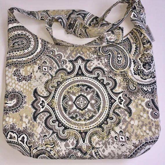 85c427759e06 Large Boho Hobo Bag  Crossbody Hobo  Cross Body Hobo  Cross Body Purse   Tote Bag with Pockets  Sling