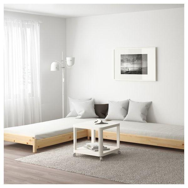stapelbett 2 matratzen ut ker kiefer moshult fest in 2019. Black Bedroom Furniture Sets. Home Design Ideas