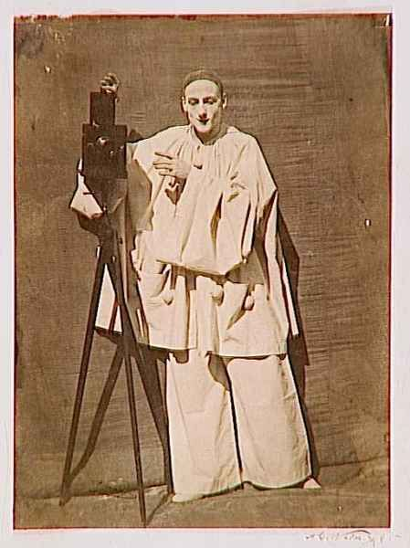 Charles Deburau as Pierrot - 1854