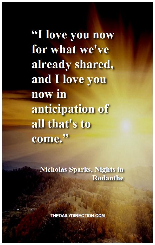 Nicholas Sparks love quote   Philosophy quotes, Quotes ...