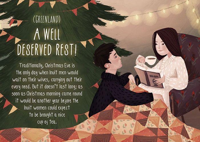 Romantische Weihnachtstraditionen: Grönland