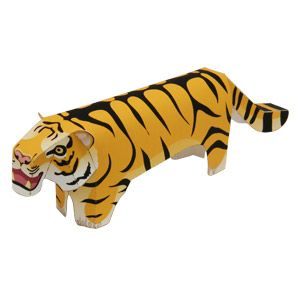 Tiger - Other Animals - Animals - Paper Craft - Canon CREATIVE PARK