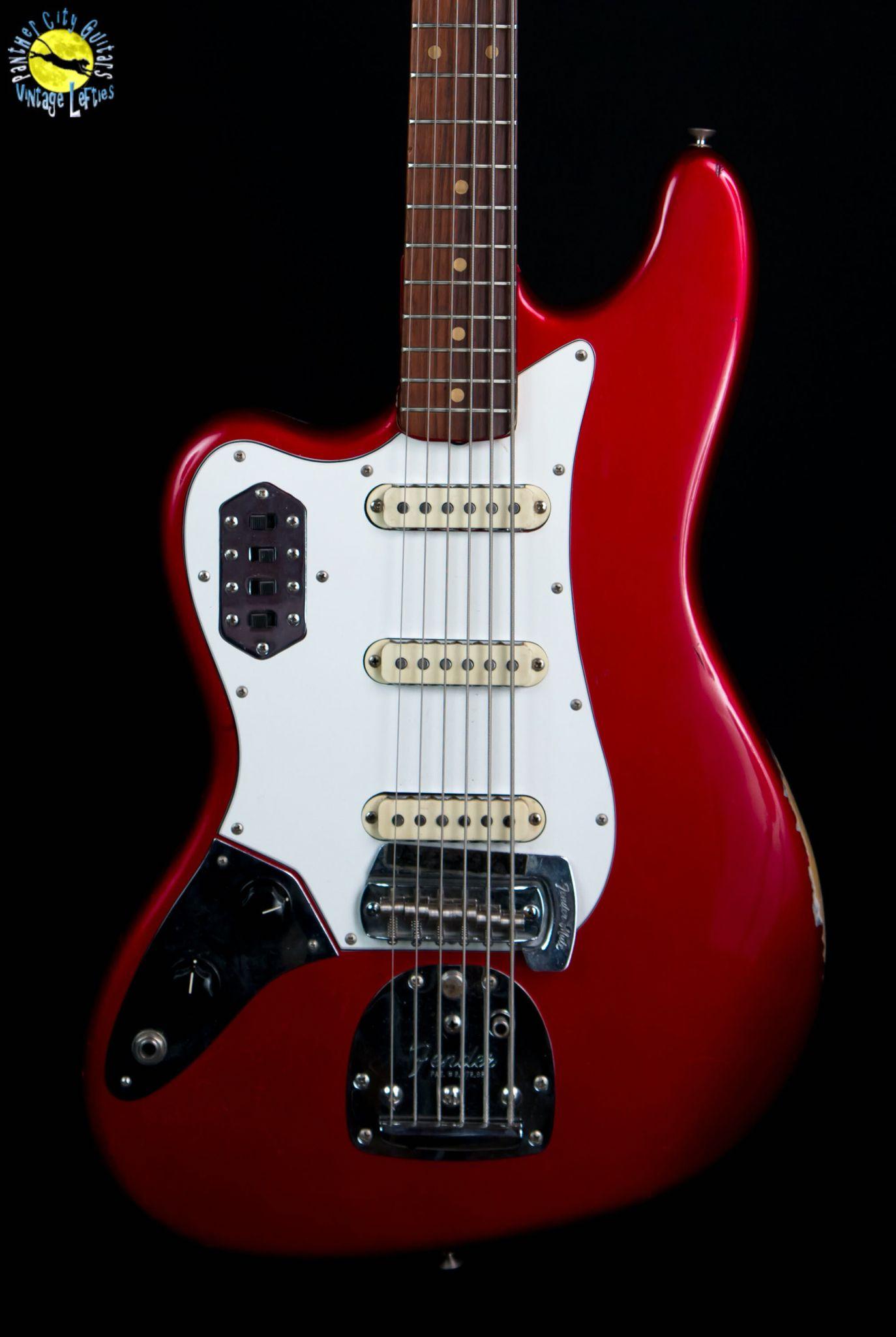 Left Handed 1964 Fender Bass VI