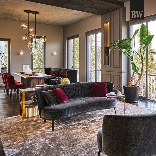 Wohnstil Urban Chic Wohnstile Wohnzimmer Inspiration Esszimmer Mobel