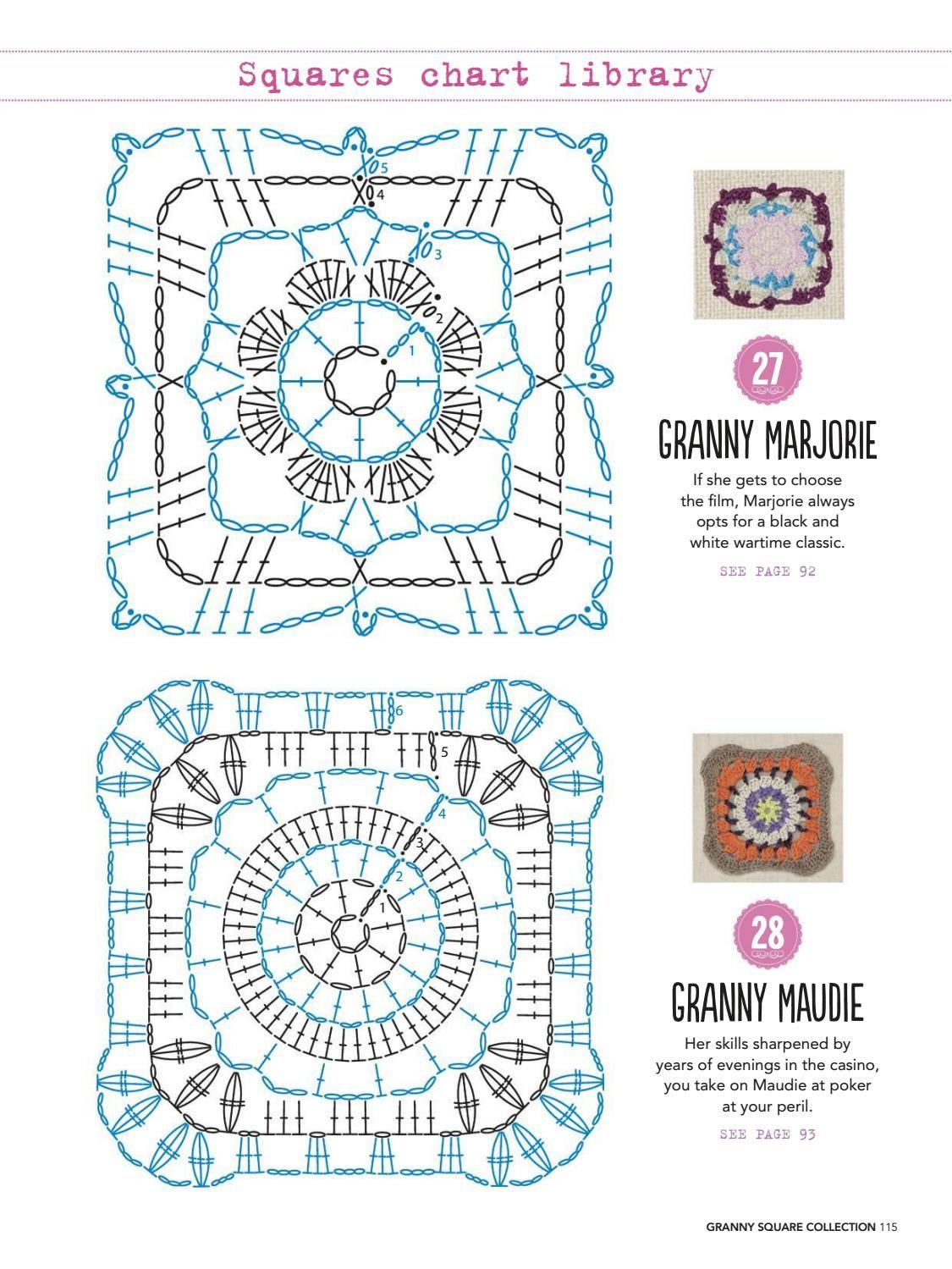 Granny square collection 2016 #ClippedOnIssuu   도일리. 레이스 ...