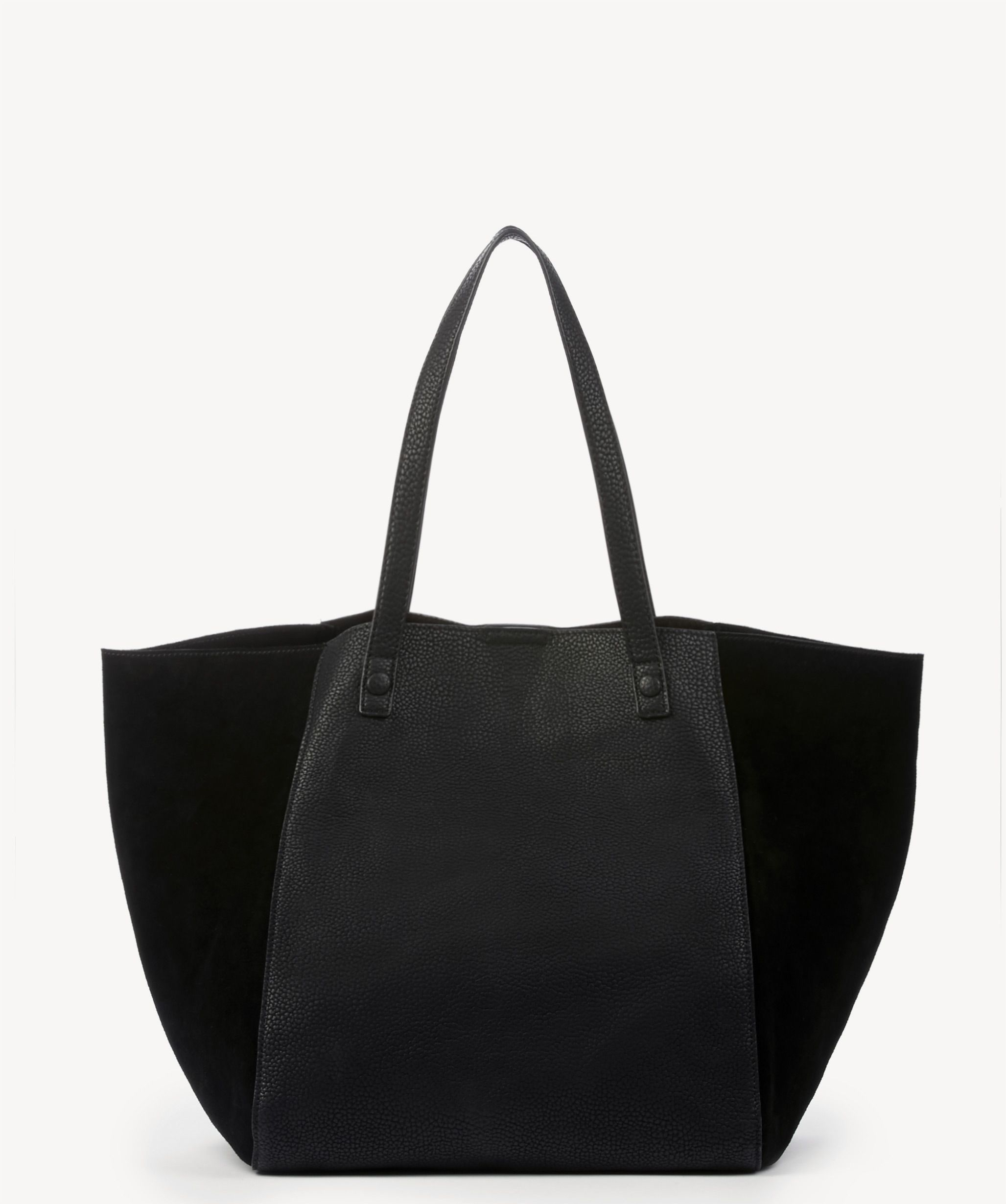 Sole Society Wesley Slouchy Tote With Genuine Suede Gussets ... 90e6e8c5dec6d