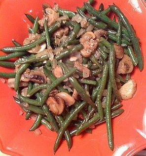 Green beans with parmesan!