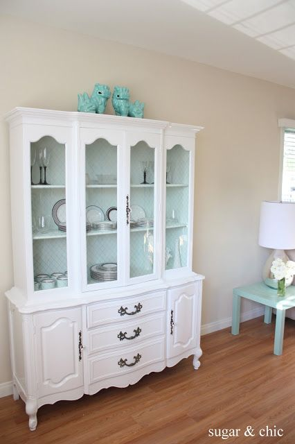 china hutch redo white paint color gloss white rustoleum. Black Bedroom Furniture Sets. Home Design Ideas