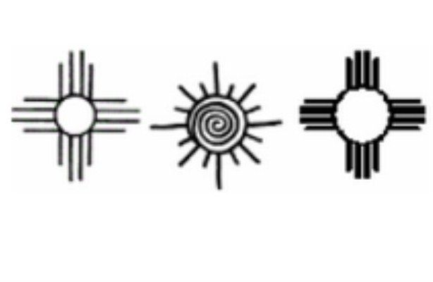 Native American Indian Symbol For Love Sun Symbol 690 X 400