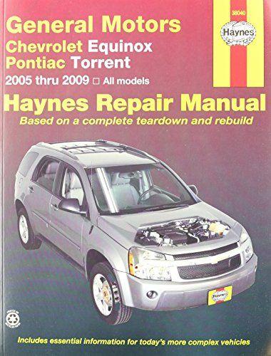 Chevrolet equinox pontiac torrent 2005 2009 haynes automotive chevrolet equinox pontiac torrent 2005 2009 haynes automotive repair manuals fandeluxe Images