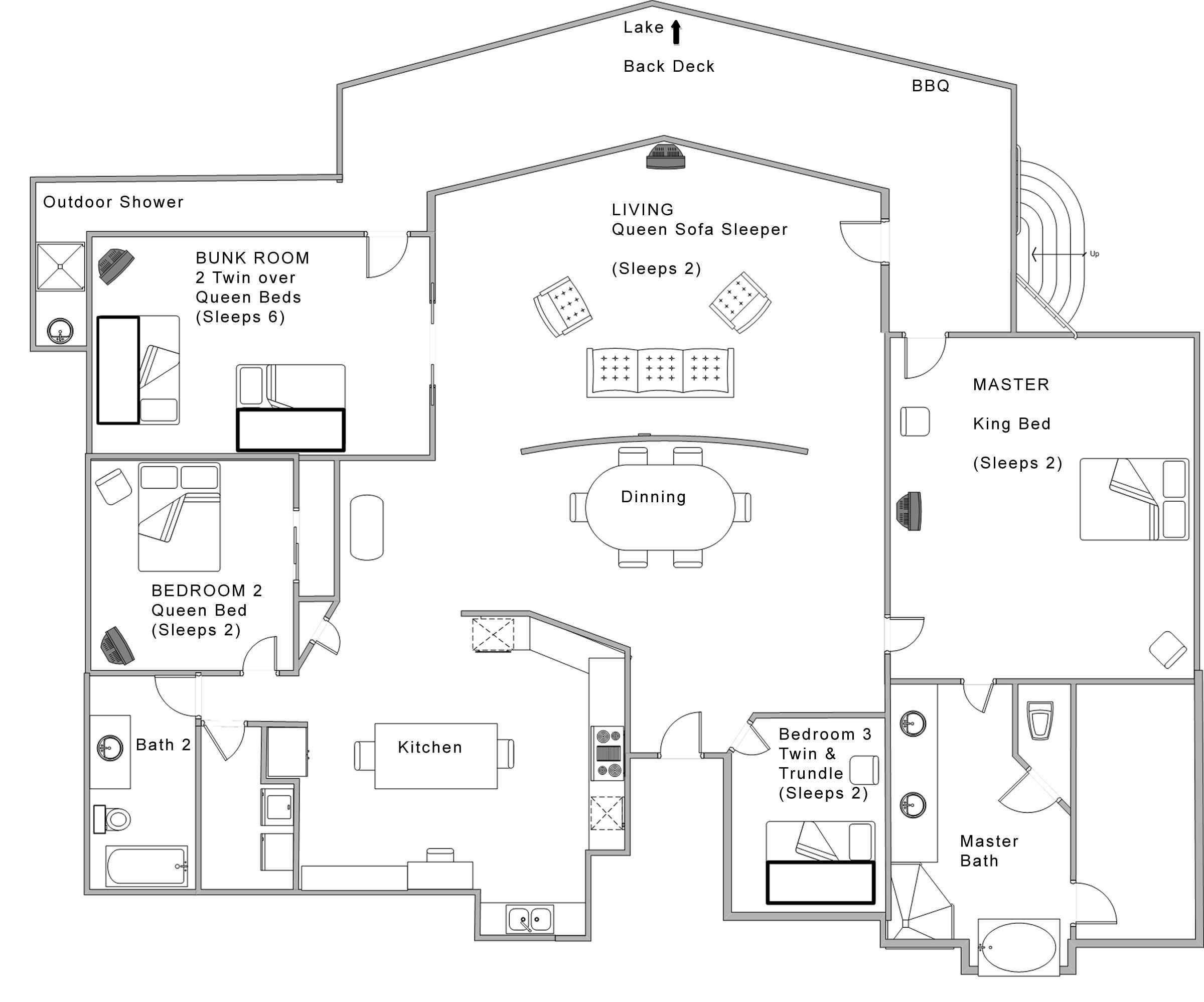 Lovely Best Open Floor Plans 2017 6 Conclusion Open Floor House Plans Modern Floor Plans Loft Floor Plans