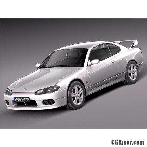 Nissan 240 Sx Silvia S15 1999 2002   3D Model