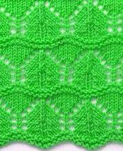 Wavy Knit Stitch