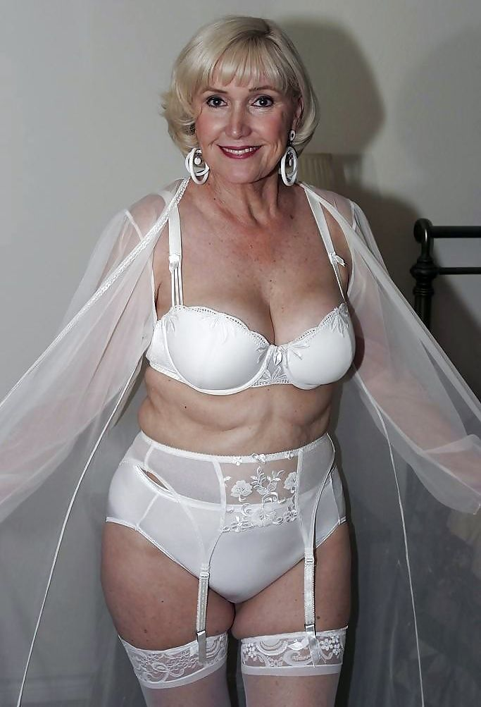 Old mature lingerie