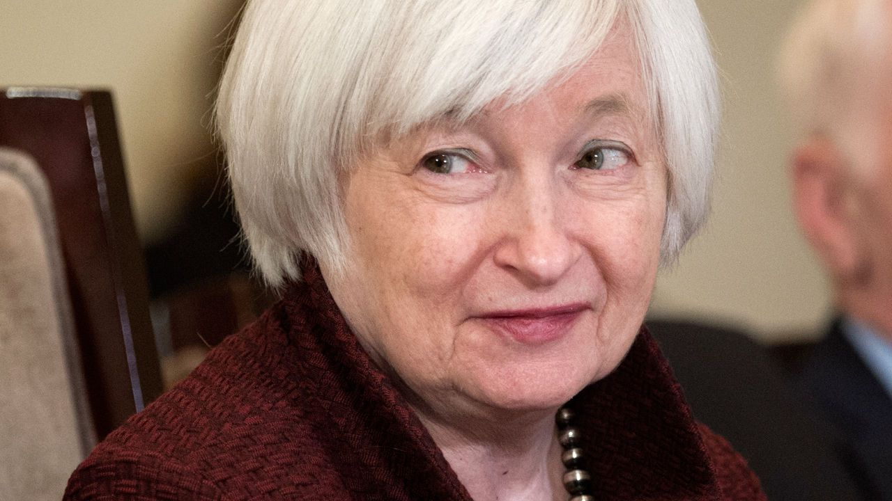 Wall St Opens Higher Investors Eye Fed Minutes With Images Kickass Women Janet Yellen Investors