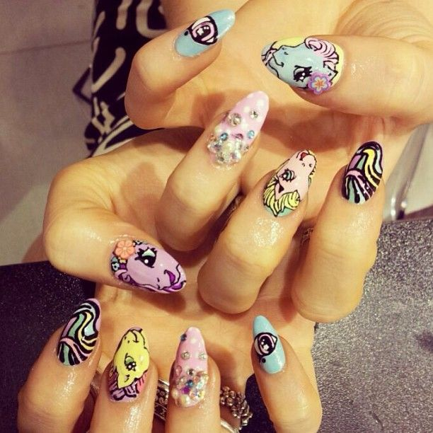 WAH Nails - My Little Pony | Nail art inspiration | Pinterest