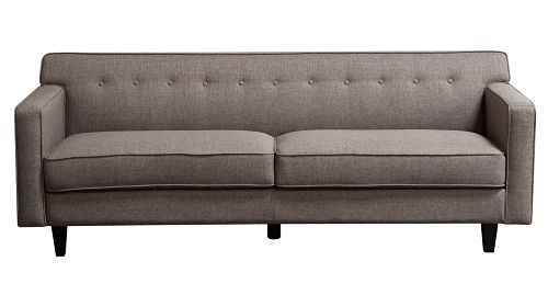 Diamond Sofa - Mid-Century Sofa in Grey #MIDCENTURYSOGR