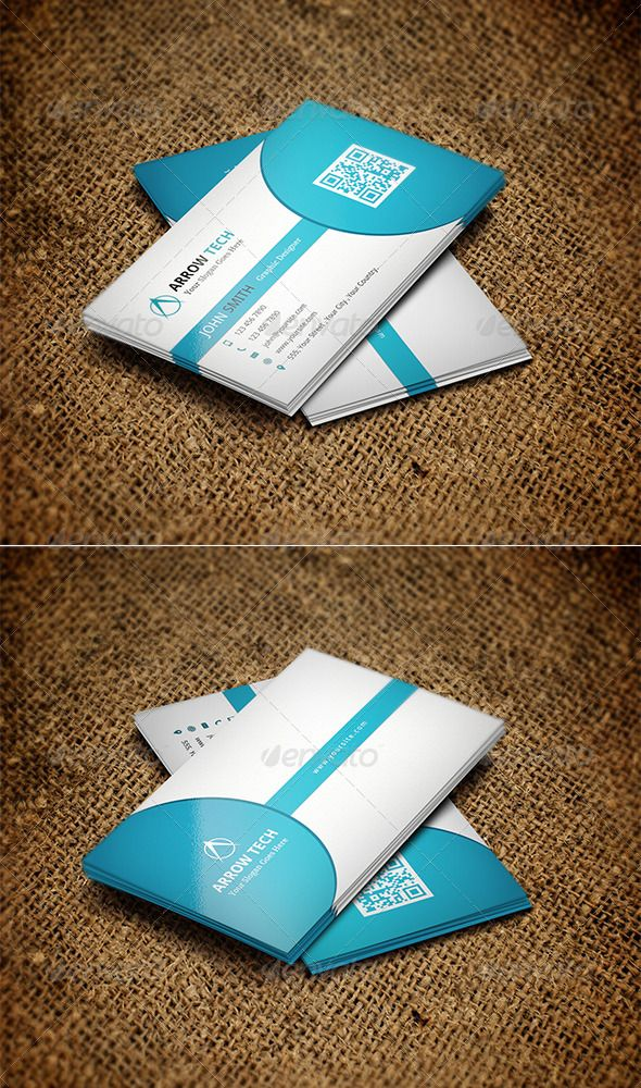 Business card design business cards serif and business business card design graphicriver double sided business card design excellent for any type of business and personal use file feature fully editable reheart Gallery