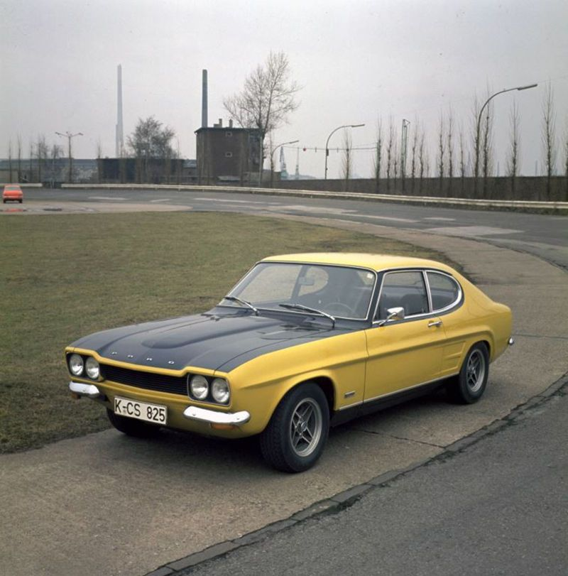 The Unlikely Story Of How This Ford Gave Birth To Bmw M Bmw Classic Cars Bmw Ford Capri