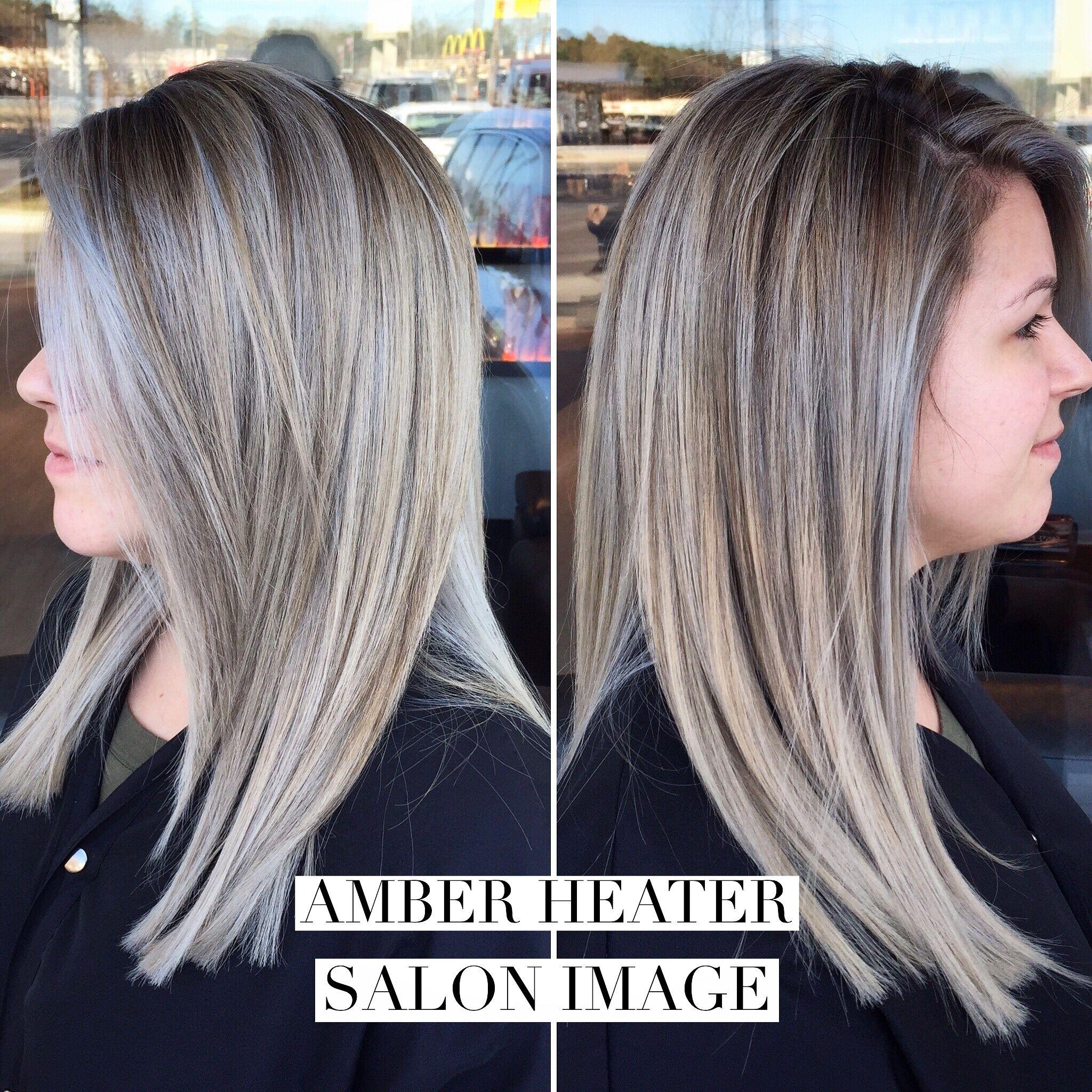 Platinum Blonde Highlights On Dark Blonde Hair Balayage Hair