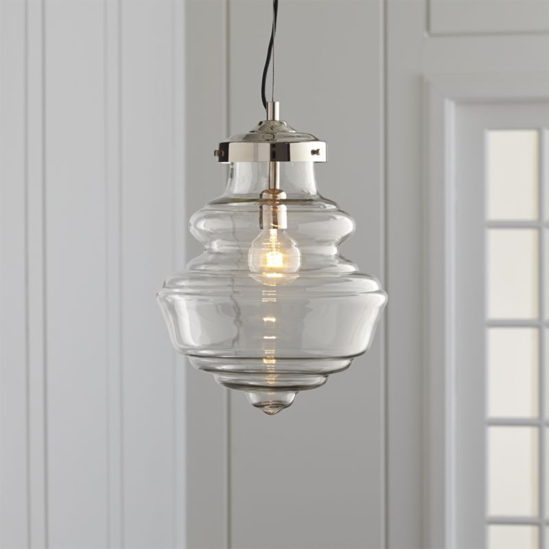 Eve pendant light crate and barrel kitchen