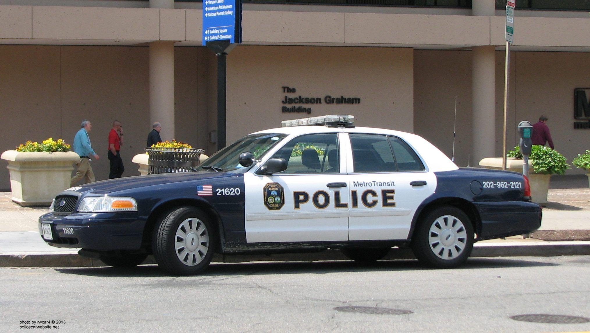 Washington Dc Transit Police Carro De Policia Policia Carros