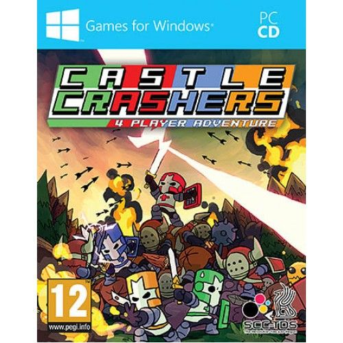 Castle Crashers Pc Castle Crashers Castle Comic Book Cover
