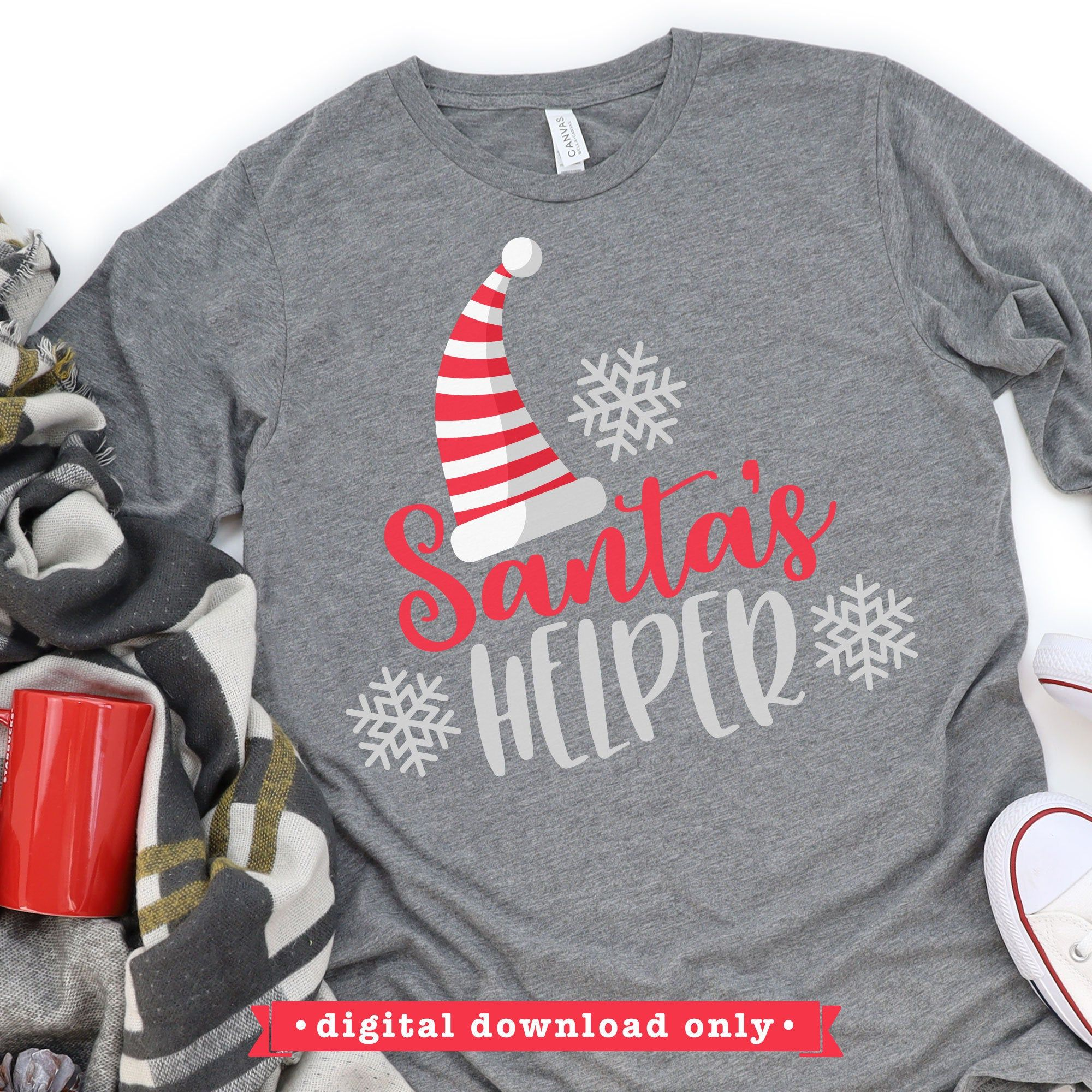 Merry Christmas svg Christmas SVG cut file Santa hat svg perfect for shirts Nice List Dropout SVG design Christmas cut file