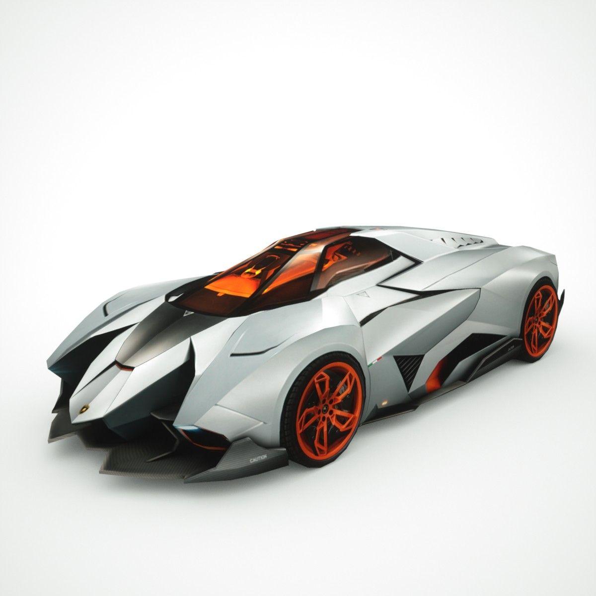 Lamborghini Egoista Inside: 3d Lamborghini Egoista Model - LGMSports.com