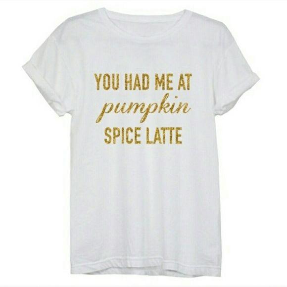 Pumpkin Spice Latte Top Just In! Gorgeous Pumpkin Spice