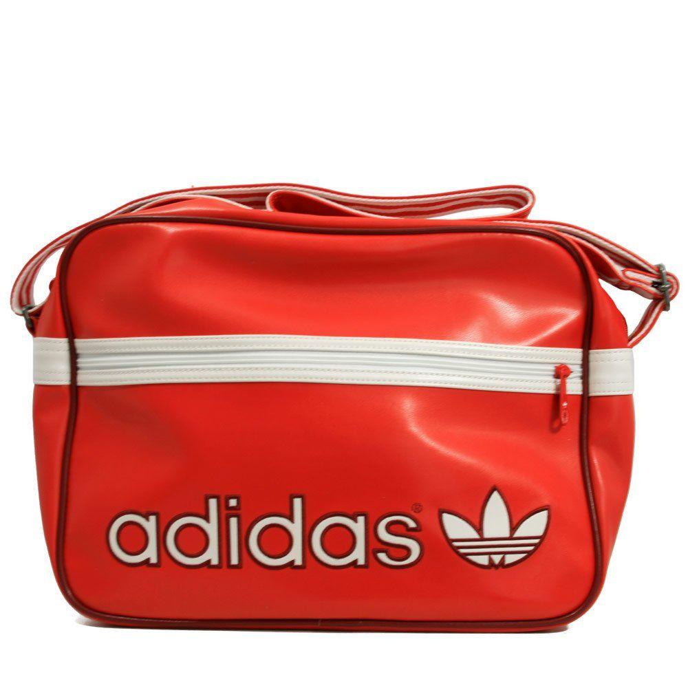 AdidasOriginals Bags Adidas Originals AC Airline Bag Vivid Red ... 8e399bc1e5cdf