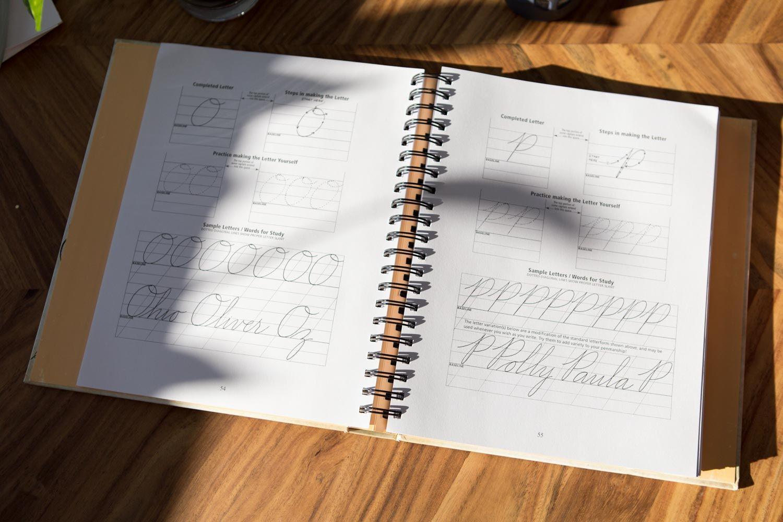 The Art Of Cursive Penmanship Book