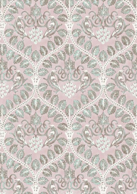 Berry Brothers Wide Width Wallpapers Wallpaper, Fabric