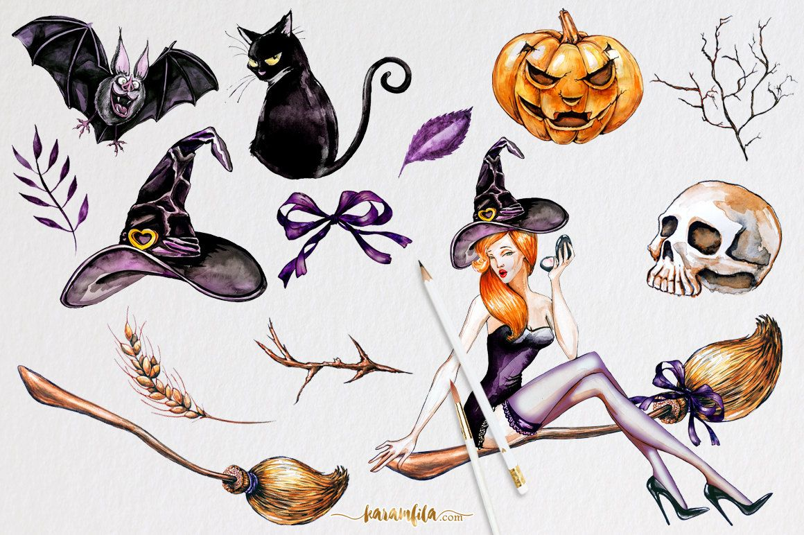 Halloween Clipart Halloween clipart, Graphic