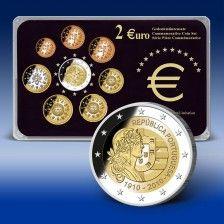 2 Euro Gedenksatz  Portugal 2010