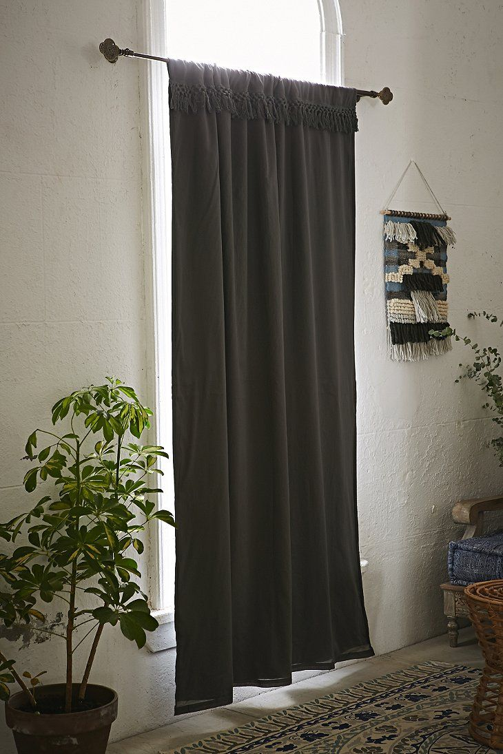 Magical thinking tassel blackout curtain house stuff - Blackout curtains for master bedroom ...
