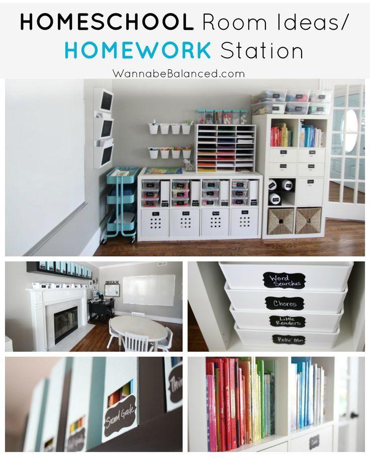 Photo of Homeschool Room Ideas   Home Decor   Wannabe Balanced
