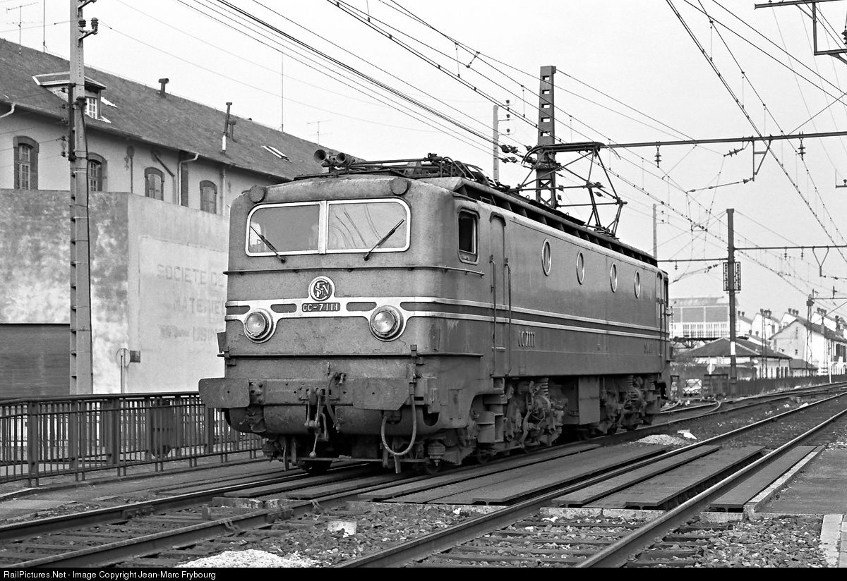 RailPictures.Net Photo: CC 7111 SNCF CC 7100 at Tarbes, France by Jean-Marc Frybourg