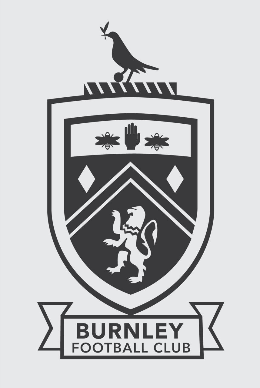 Burnley FC Crest | Burnley fc, Burnley, English football ...