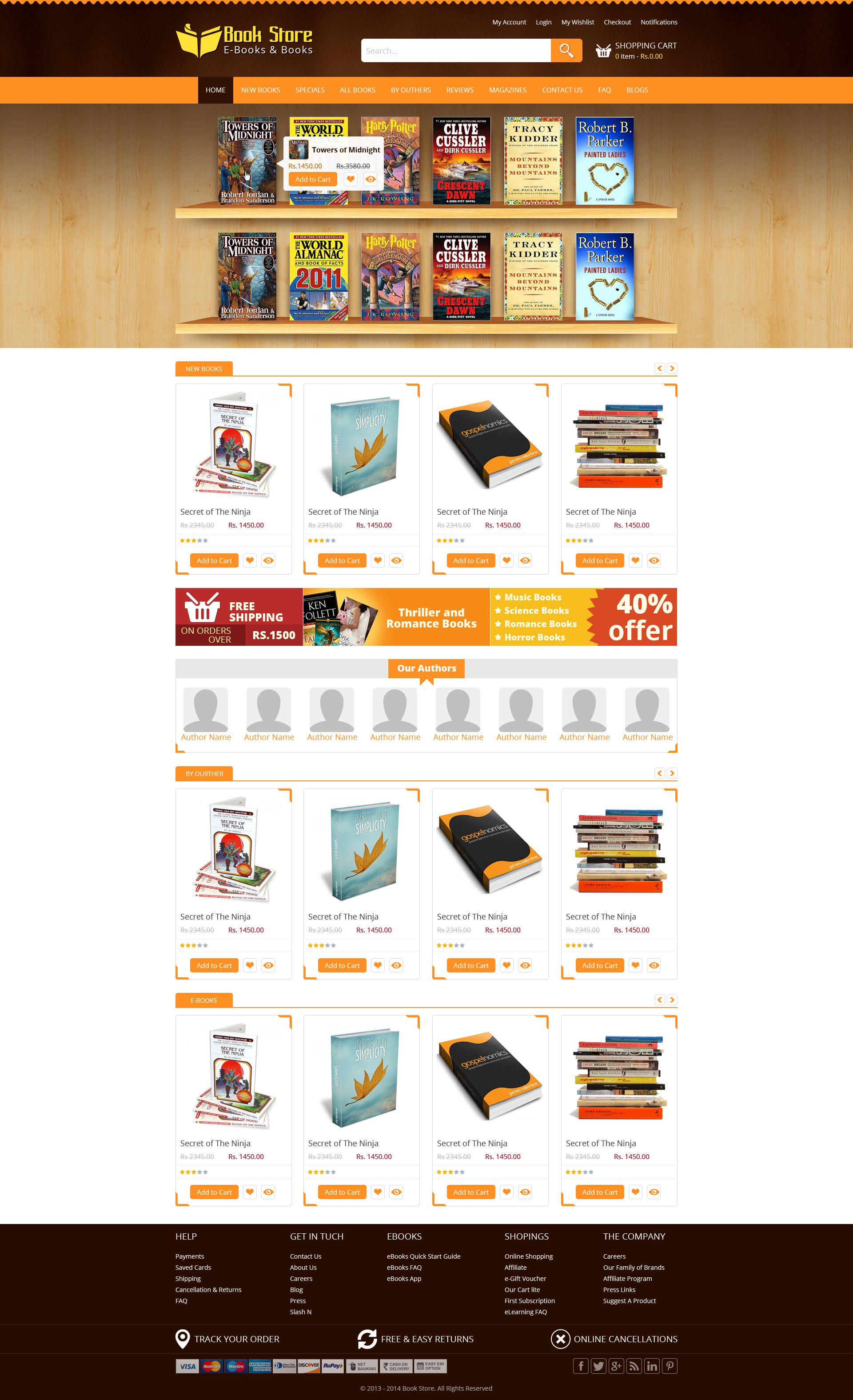 Book store theme. Sell365 India's best Online Store Builder.Design ...