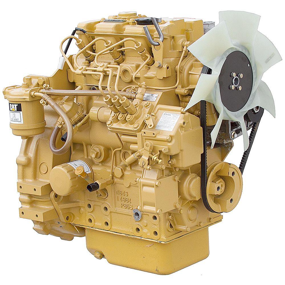 31.4 HP CATERPILLAR 3013C DIESEL ENGINE