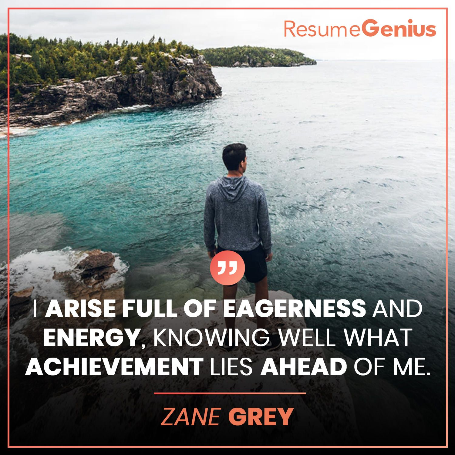 """""""I arise full of eagerness and energy. Knowing well what"""
