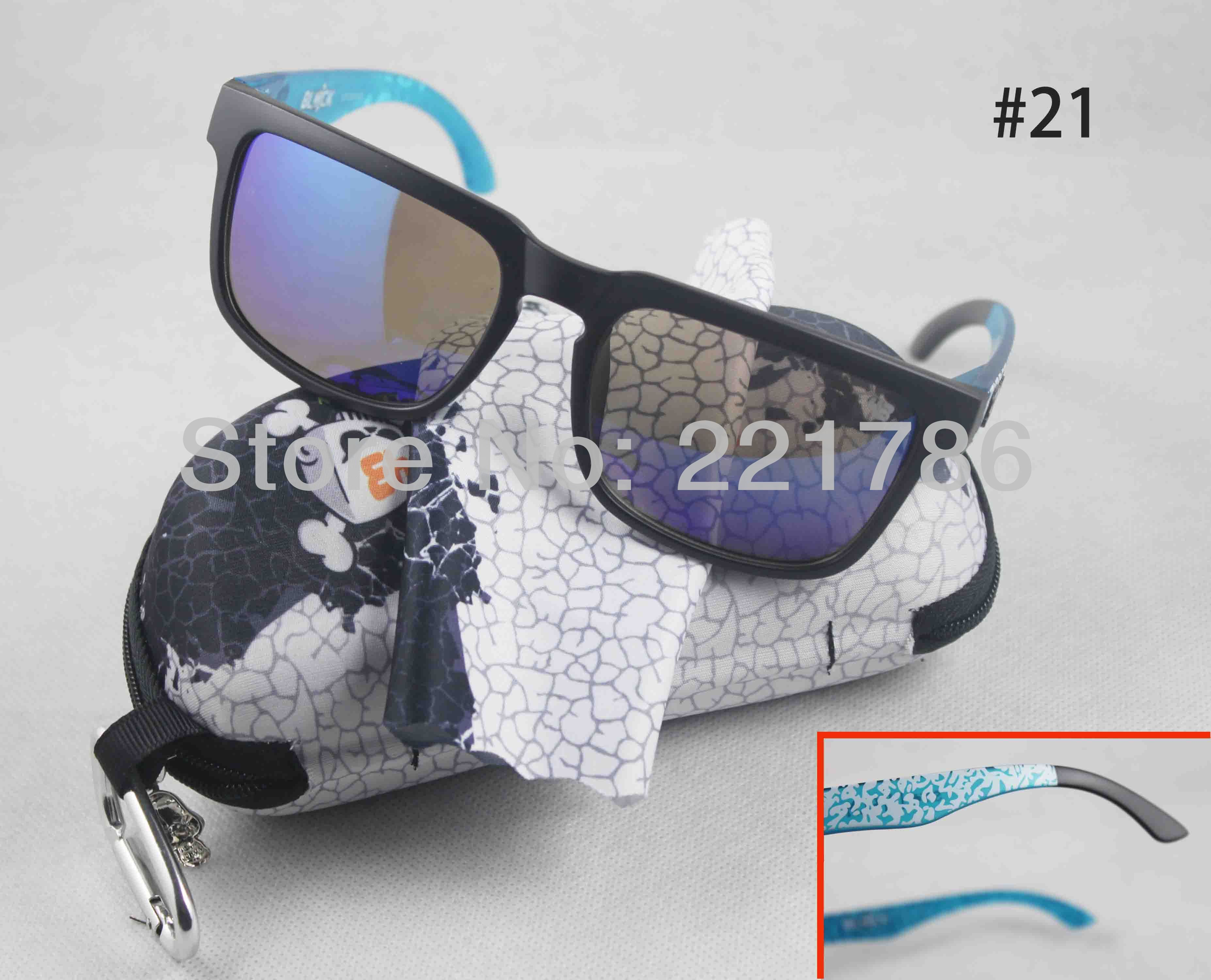 2014 hot New Sunglasses Cycling Sports Sun glasses Eyeglasses 21 colors can choose (06-21) with case 15%off 6.75$